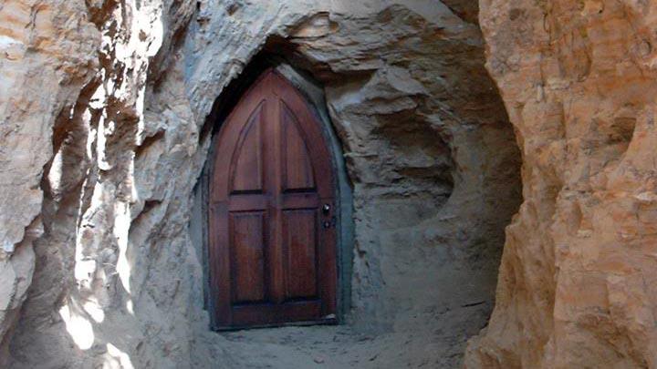 Загадочная пещера - достопримечательность с. Буда