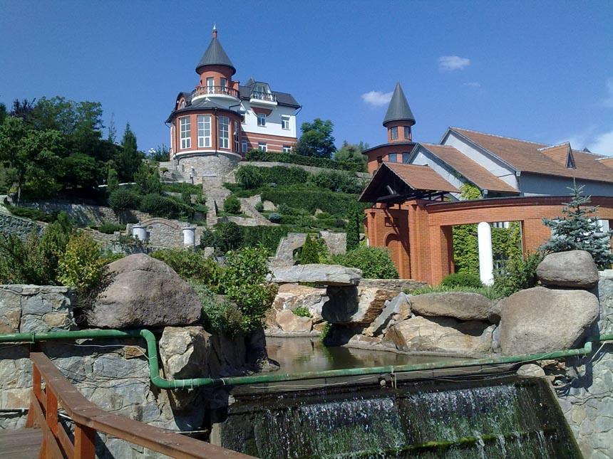 Ландшафтный парк - достопримечательность с. Буки Киевской области