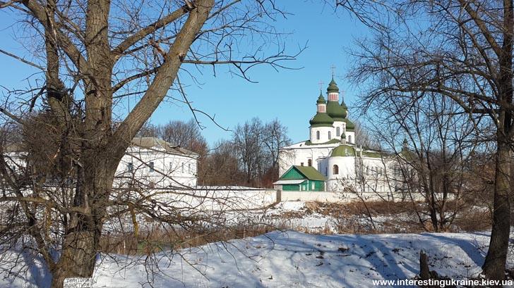 Даневский монастырь - достопримечательность Черниговской области