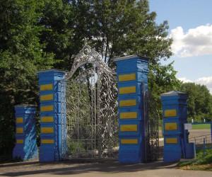 Интересные места Кагарлыка. Кованые ворота
