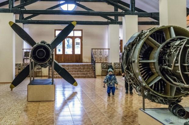 Экспонаты Музея космонавтики г. Киев