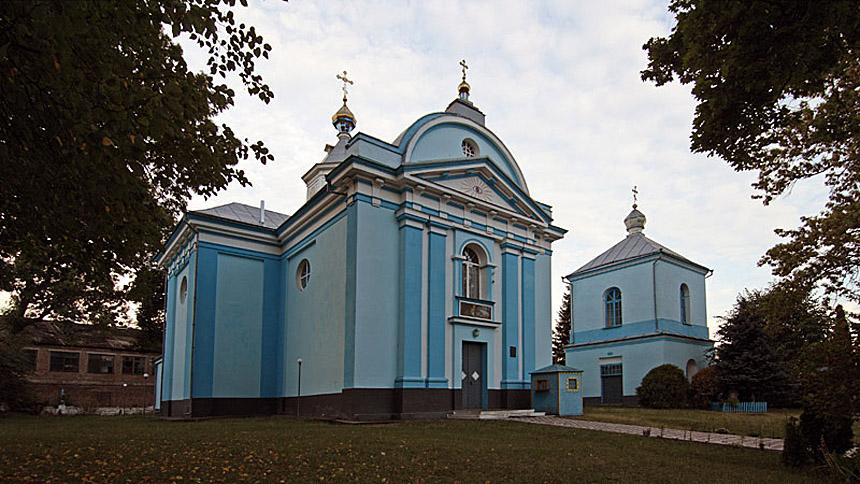 Достопримечательность Клеваня - Церковь Рождества Христова 1777 г