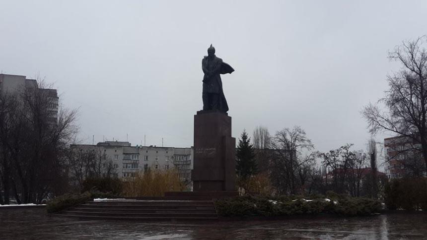 Достопримечательности Кременчуга - памятник Т. Шевченко