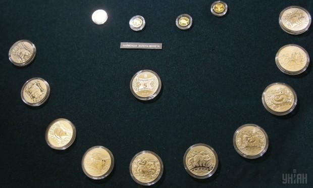 Монеты в Музее денег, г. Киев