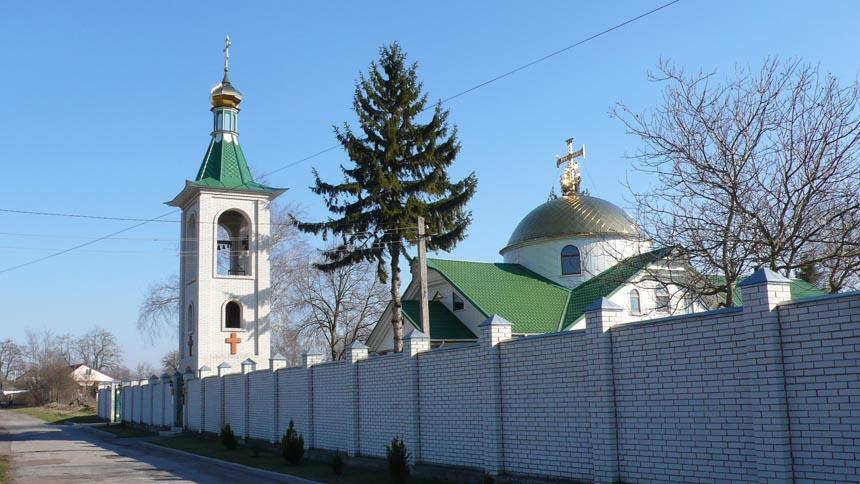 Свято-Успенский монастырь достопримечательность в с. Райковщина
