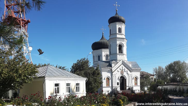 Спасо-преображенский собор - достопримечательность Никополя