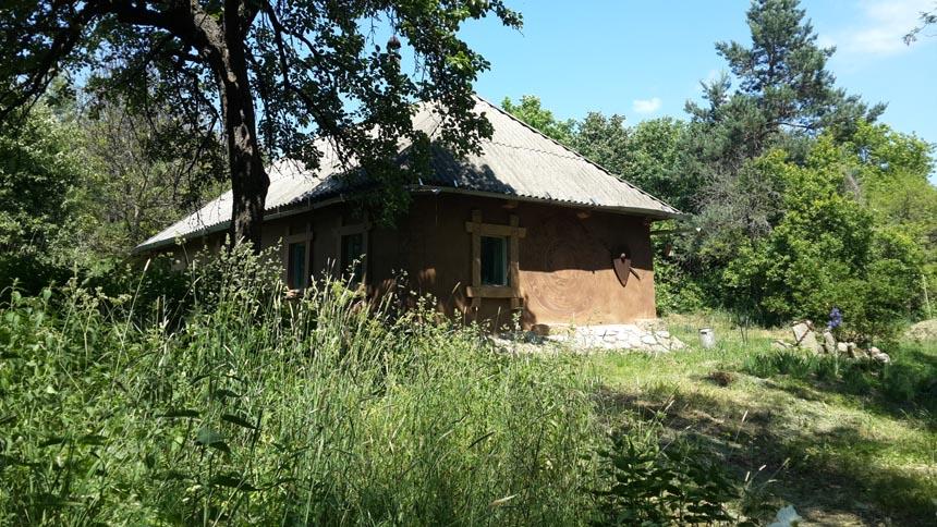 Дом отшельнка в Трахтемирове