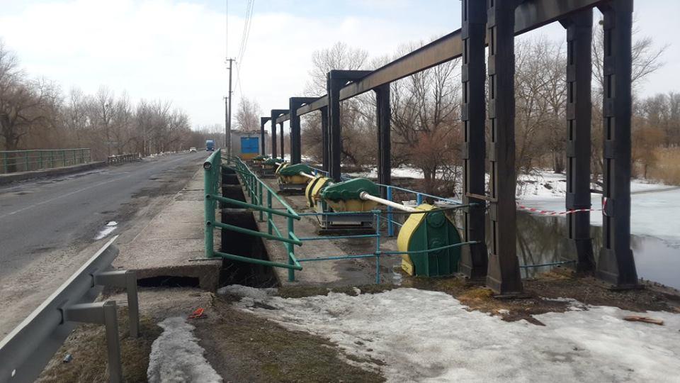 Великая Багачка. Мост через р. Псёл