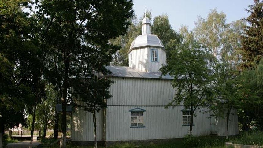 Достопримечательность Веприка - деревянная церковь